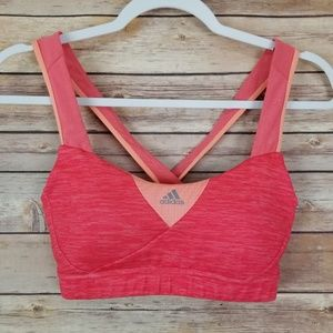 Adidas Cross Back Sports Bra Size Small/Medium